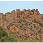 Meteorizarea granitului, Mtii_Macin (N.Cruceru)