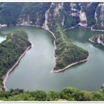 R. Uvac, Serbia, meandre incatusate (C Canciu)