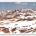 Cuesta landform in Bucegi (M. Voiculescu)