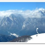 Muntii Bucegi seen from Mts Baiului (M. Voiculescu)