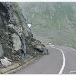 Rockfalls along the Transfagarasan Road (M. Voiculescu)